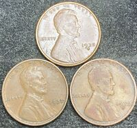1935 P-D-S LINCOLN WHEAT PENNIES- SHIPS FREE 1