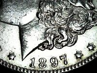 1897 P MORGAN DOLLAR AA21-1055 VINTAGE