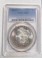 MORGAN SILVER DOLLAR 1894 S PCGS MINT STATE 62