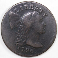 1796 1C S-84 LIBERTY CAP LARGE CENT