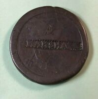 GREAT BRITAIN 1797 2 PENCE WITH COUNTERSTAMP  MARSHALL