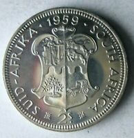 1959 SOUTH AFRICA 2 SHILLINGS   PROOF   VERY SCARCE SILVER C