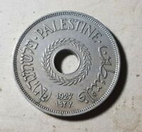 1927 20 MILS  COIN FROM PALESTINE    VF     MUST SEE