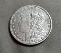1891 CC CARSON CITY MORGAN SILVER DOLLAR HIGH GRADE   LOTS OF WOW LEFT
