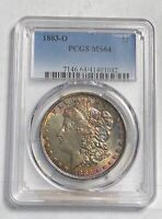 MORGAN SILVER DOLLAR 1883 O PCGS MINT STATE 64