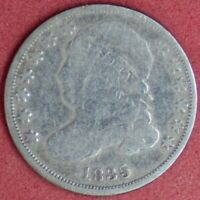 1835 CAPPED BUST 10C G