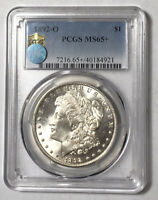 MORGAN SILVER DOLLAR 1892 O PCGS MINT STATE 65