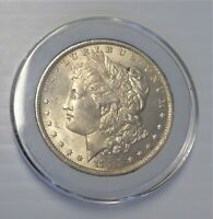 1883-O MORGAN SILVER DOLLAR, MINT STATE, BEAUTIFUL COIN