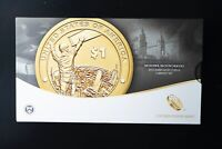 2015 US MINT MOHAWK IRONWORKERS AMERICAN $1 COIN AND CURRENC