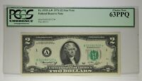 FR. 1935-A 1976 $2 BOSTON PCGS CHOICE NEW 63 PPQ
