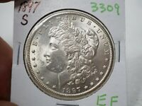 1897-S SILVER MORGAN DOLLAR  3309