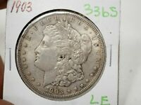 1903  $1 MORGAN SILVER DOLLAR  3365