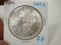 1883 MORGAN DOLLAR  3872