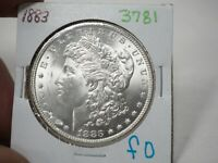 1883  MORGAN DOLLAR  3781
