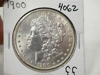 1900 MORGAN SILVER DOLLAR  4062