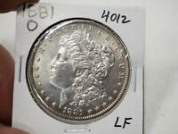 1881 O  SILVER MORGAN DOLLAR  4012