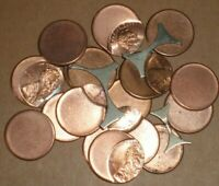 LOT OF 20   LINCOLN MEMORIAL CENT US MINT ERROR COINS OFF C