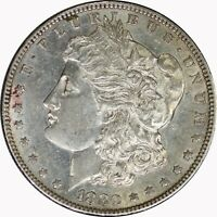 1880-S SILVER MORGAN DOLLAR RAW AU ABOUT UNCIRCULATED US COIN