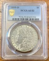 1895-O MORGAN SILVER DOLLAR PCGS AU53LOOKS R