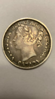 1858 CANADA 20 CENTS ONLY YEAR MINTED