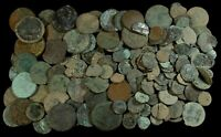 ALL THE TIMES SPANISH COINS  UNCLEANED LOW QUALITY    150 PI