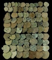 COINS AUSTRIAS PERIOD MEDIEVAL TIMES  BRONZE UNCLEANED    78