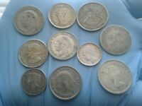 WORLD SILVER COINS LOT