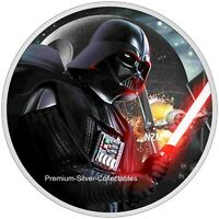 2020 NIUE STAR WARS DARTH VADER  1 OUNCE PURE SILVER .999 CO