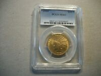 1910 $10.00 INDIAN GOLD EAGLE PCGS MS61