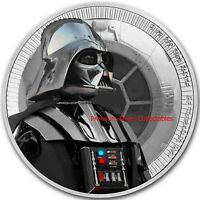 2017 NIUE STAR WARS DARTH VADER  1 OUNCE PURE SILVER .999 CO