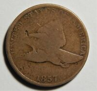1857 FLYING EAGLE CENT DOUBLE DIE OBVERSE