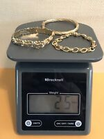 25 GRAMS 14K GOLD SCRAP/NOT SCRAP RESELL SOLID GOLD WEARABLE MARKED