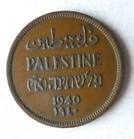 1940 PALESTINE MIL   AU   EXCELLENT HARD TO FIND COIN   LOT