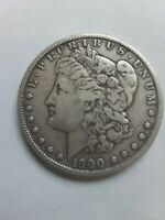 1900 - S MORGAN SILVER DOLLAR VF - SEE PICTURE 2554