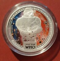 2014 $1 DOCTOR WHO MONSTERS SONTARANS 1/2OZ SILVER PROOF COI