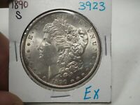 1890 S  MORGAN DOLLAR  3923