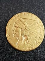 1925 2.5 GOLD INDIAN HEAD QUARTER EAGLE COIN