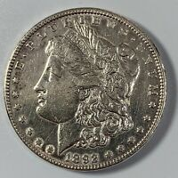 1892-P MORGAN SILVER DOLLAR $1 - EXCELLENT CONDITION -  LUSTER -  DATE