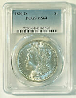 MORGAN SILVER DOLLAR 1890 O PCGS MINT STATE 64