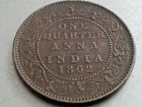 OLD COPPER COIN 1862