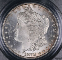 1878 7TF REVERSE 1879 MORGAN SILVER DOLLAR COIN PCGS MINT STATE 64