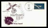 DR WHO 1962 PORT CANAVERAL FL SPACE MARINER II LAUNCH CACHET