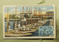 DR WHO 1945 FDC ANNAPOLIS MD US NAVAL ACADEMY/NAVY MAXIMUM C