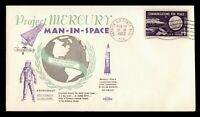 DR WHO 1962 FRIENDSHIP 7 LAUNCH PATRICK AFB FL SPACE CRAFT C