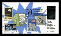 US COVER FIRST MOON LANDING 50TH ANNIVERSARY SPACE FDC LIMIT