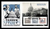 DR WHO 2006 FDC WORLD EXPO NATIONAL CAPITOL PANDA CACHET S/S