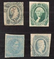 CONFEDERATE STATES OF AMERICA GROUP LOT: CSA  7 11 12  12C?