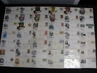SUPERIOR LOT 500 FDC INCLUDING SETENANTS PLUS WIDE VARIETY C