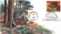 2422 25 25C DINOSAURS A.O. HENRY HAND PAINTED CACHET SET OF