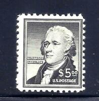 US STAMPS   1053   MNH   $5  HAMILTON ISSUE   CV $47